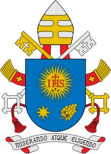 Coat of arms of Franciscus - Christogram - Wikipedia, the free encyclopedia