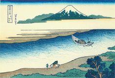 Hokusai22 tama-river - Katsushika Hokusai - Wikipedia, la enciclopedia libre