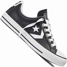 Tênis Converse All Star Player OX Casual Masculino Preto