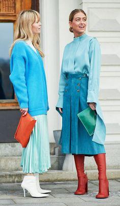 Scandinavian fashion style: