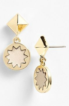 House of Harlow 1960 Sunburst Drop Earrings available at #Nordstrom