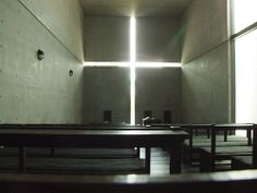 Tadao Ando 翌日/茨木/光之教會 by jacob jung, via Flickr