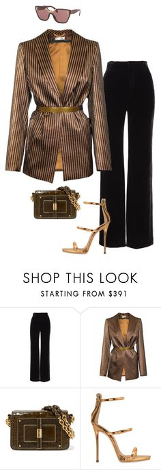"""Untitled #674"" by milly-oro on Polyvore featuring Vince, JIRI KALFAR, Tom Ford, Giuseppe Zanotti and Prada"
