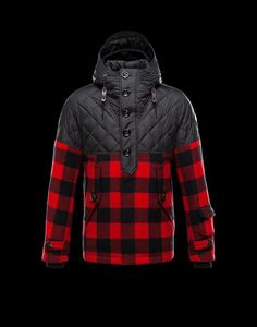 Moncler Mens Jacket Altier Red
