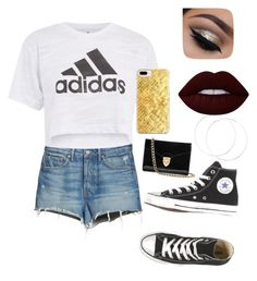 """""""Adi""""Duh!"""""""" by ellag130 on Polyvore featuring GRLFRND, Topshop, Aspinal of London, Casetify and Lime Crime"""