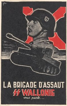 Recruiting poster for a Flemish SS Legion.