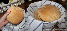 Mlsná kuchyně: Můj první domácí (dokonalý) pita chléb Pancakes, Breakfast, Food, Morning Coffee, Eten, Meals, Pancake, Morning Breakfast, Crepes