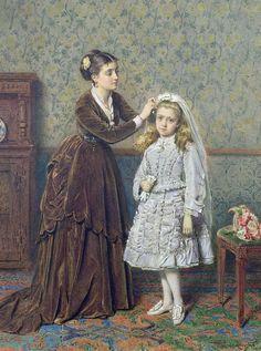 Акварели George Goodwin Kilburne: 65 роскошных полотен - Ярмарка Мастеров - ручная работа, handmade