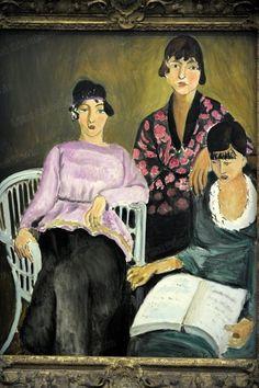 Les Trois Soeurs (Three Sisters) - Henri Matisse 1916-17