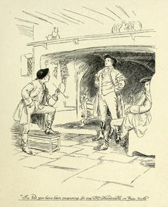 Hugh Thomson Illustrations: She Stoops to Conquer by Oliver Goldsmith