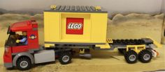 Lego City Cargo Train 7939 Cargo Truck with Container and 1 Minifigure Only New | eBay