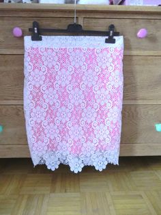 diy double layer lace skirt