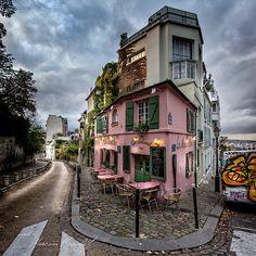 Dusk, Montmartre, Paris