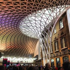 King's Cross Station by John McAslan Partners Photo by archdaily • Instagram