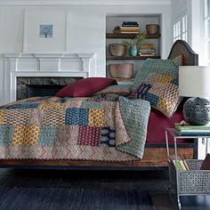 Suri Handmade Patchwork Quilt | The Company Store