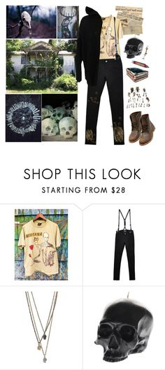 """Entering Carcosa"" by my-playground-love ❤ liked on Polyvore featuring CourtShop, Episode, D.L. & Co., Bed