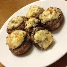 Stuffed Cream Cheese Mushrooms - Allrecipes.com