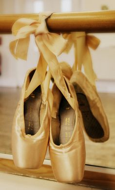 I can never see a pair of ballet slippers and not think of my childhood best friend