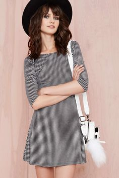 Nasty Gal has clothing and accessories for just about any personal style; from the very bold and edgy to the sweet and girly. I think this Hounds of Hell Yeah Dress is a nice middle ground that would look great on a lot of women. | $58 from Nasty Gal #nattygal #thenatty #dress @nastygal