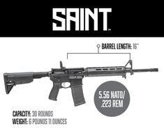 Learn more about the many options available in the Springfield Armory Saint AR-15 line of rifles