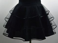 Halloween Half Apron, Vintage Style Apron, 3 Tiered Apron, Hostess Apron,Net Apron, Halloween Costume, Goth Apron, Made To Order by NancysNeedfulThings on Etsy