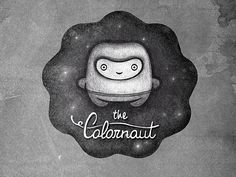 Thecolornaut #logo #character #illustration