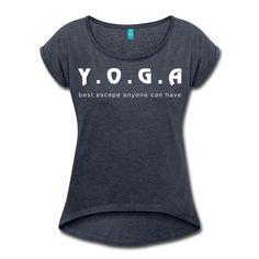 Yoga voor jouw en mij. Bedrukking is fluweelachtig