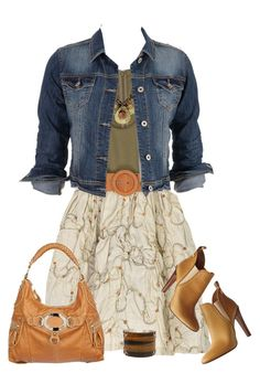 """""""Summer to Fall Outfit"""" by daiscat ❤ liked on Polyvore featuring Alice + Olivia, maurices, Black Rivet and Federica Rettore"""
