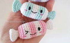 Super Cute Candy Crochet Design