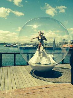 BookingBooking Cellosphere Musical Bubble Act for Hire UK / London In A Bubble - Bubble Performers Booking agent for Music In A Bubble - Musician In A Bubble