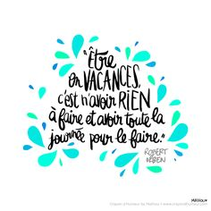 CDH: Vacances