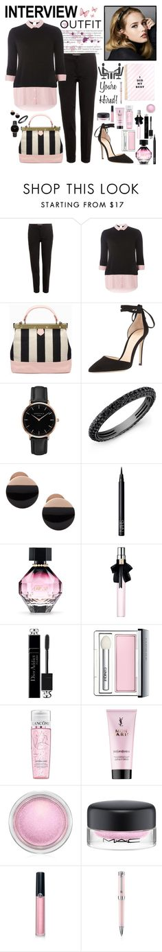 """""""Interview Outfit"""" by whims-and-craze ❤ liked on Polyvore featuring Etro, Dorothy Perkins, Tammy & Benjamin, Gianvito Rossi, Topshop, Anne Sisteron, Skagen, NARS Cosmetics, Victoria's Secret and Yves Saint Laurent"""