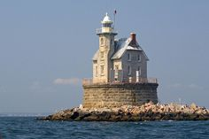 Race Rock Lighthouse, New York by nelights, via Flickr