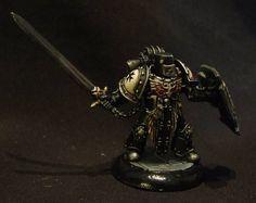 Paintbrush Destruction: The Mercadian Crusade - Black Templars