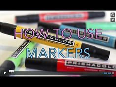 Art Tip Video: Using Markers in the Art Room | Deep Space Sparkle