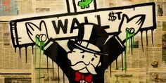 American Street Artist Takes On 'Extreme Capitalism'