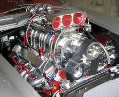 Blown and Injected 1963 Corvette