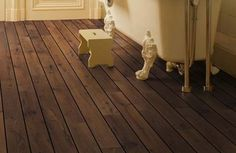 laminate wood floor - nice floor color...wouldn't want to do any darker