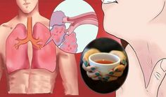 Make This Tea and Drink Daily to Cure Cough Asthma Bronchitis Rheumatism Infections and More HealthTipsCentral Asthma Remedies, Home Remedies, Herbal Remedies, Natural Cures, Natural Health, Clear Lungs, Lung Cleanse, Lunges, Health Tips