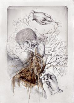 Anatomía y flora. Los dibujos de Nunzio Paci- http://nextdooreditores.com/2015/06/29/anatomia-y-flora-los-dibujos-de-nunzio-paci/