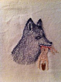 Berta Salinas. Embroidery.