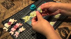 Create a bow with one strip of design paper with the WRMK Envelope Punch...