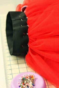 мастер-класс по шитью юбки из фатина