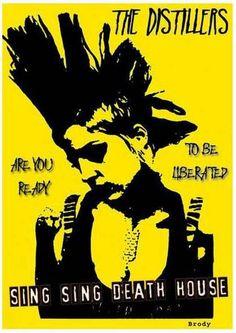 Poster Punk Brody Dalle The Distillers em lona a venda em https://www.enjoei.com.br/thaldesign-poster-punk-brody-dalle-the-distillers