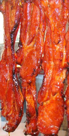 Char Siu - Barbecued Roast Pork http://cantonesefoodrecipes.com/char-siu-barbequed-roast-pork