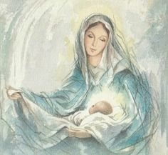 Blessed Mother Mary, Divine Mother, Blessed Virgin Mary, Catholic Art, Religious Art, Nativity Painting, Mary Tattoo, Images Of Mary, Queen Of Heaven