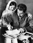 While their marriage began with mutual affection, Stalin's temperament and alleged affairs contributed greatly to Nadya's depression. After Stalin berated her particularly harshly at a dinner party, Nadya committed suicide on November 9, 1932.