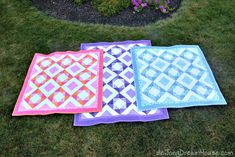 de Jong Dream House: Quilts and Griffith Trio Picnic Blanket, Outdoor Blanket, House Quilts, Quilting, Baby, Fat Quarters, Baby Humor, Jelly Rolls, Infant