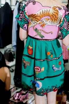 OMG! Want this outfit by Gucci Resort 2016!....x