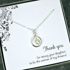 Mother of the Bride Gift from Groom Mother by StarringYouJewelry